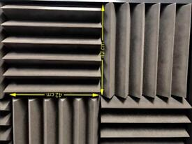 High quality acoustic foam - job lot including 4 x bass traps