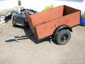 WOODEN CAR TRAILER DUMP RUNS ETC.COLLECT NEW MILTON AREA