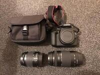 Canon EOS 1200D - Carry case & two lens