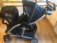 Double Pushchair Graco Quattro Duo