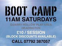 Saturday Boot Camp - Headington Oxford!