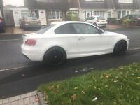 BMW 1 series 120d coupe M sport red leathers