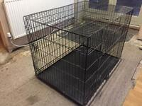 X Large Dog Crate For Bedtime or Travel