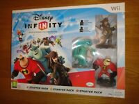 Nintendo Wii Disney Infinity Starter Set 100% Complete With Box As New Condition