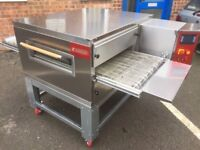 "CATERING COMMERCIAL BRAND NEW 21"" GAS PIZZA OVEN CONVEYOR BELT COMMERCIAL KITCHEN CAFE SHOP CHICKEN"