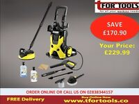 KARCHER k5 PRESSURE WASHER K 5 CAR & HOME KITS LONG LIFE water-cooled motor