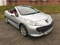 2007 Peugeot 207 CC GT 1.6 Convertible Done Only 54,000 Miles