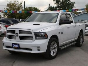 2014 Ram 1500 4X4 LEATHER LOADED WITH NAV AND BACKUP