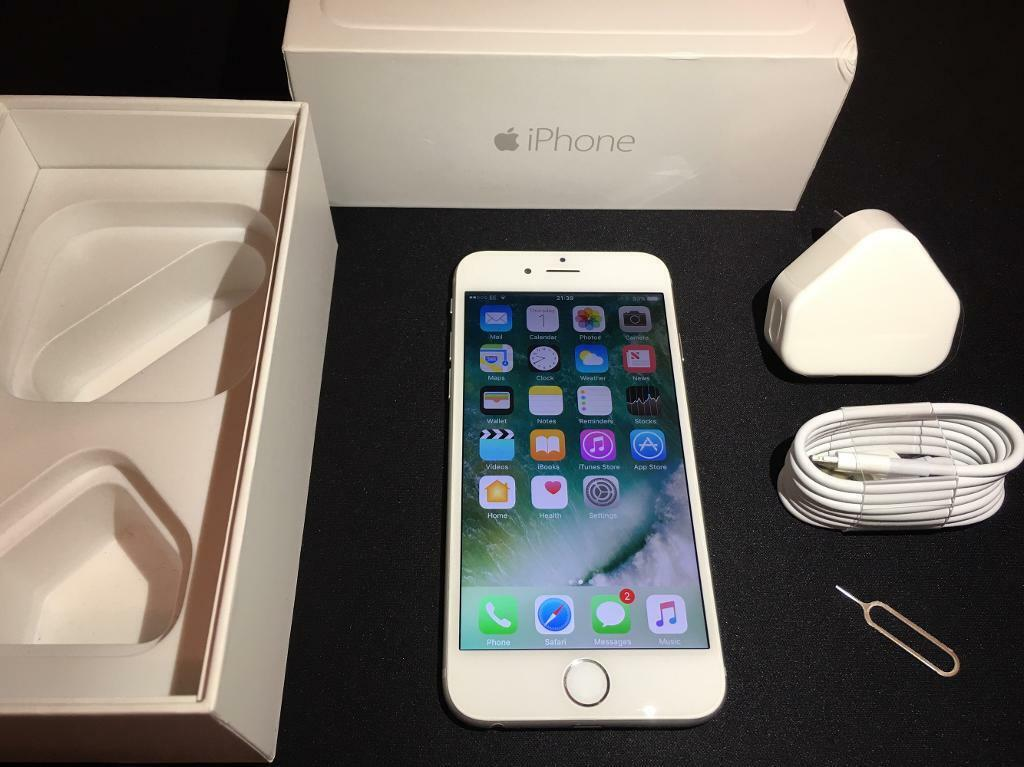 iPhone 6 16GBSilverEEin Mansfield, NottinghamshireGumtree - iPhone 6 16GB Silver on EE network. iPhone is fully functional and in excellent condition, see photos. Comes with box, charger and cable.For sale only, no swaps.Please see my other iPhones that I have for sale. If interested contact me