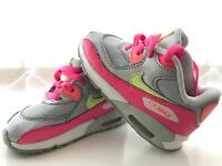 Girls Nike Air Max Toddler Trainers