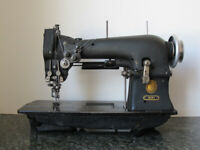 Vintage Singer 72w12 hemstitcher, industrial sewing embroidery machine