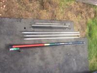 Bank sticks / net handles