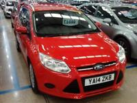 FORD FOCUS 1.6 TDCi Edge ECOnetic [88g/km] (red) 2014