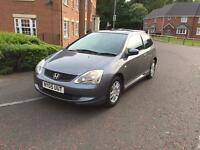 Honda Civic, 1.6VTEC, 2005, 12 Months Mot, 90,000 Miles, Immaculate Condition, FULL SERVICE HISTORY.