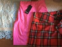6 boxes of brand new with tags women's clothing perfect for eBay or carboot