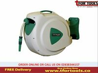 ProPlus Wall Mounted Garden Water Hose Reel Automatic Retractable 20m