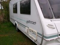 abbey jedburgh 02 4 berth only 1000kg so light weight van immaculate condition
