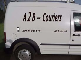 Small Van with owner driver able to do courier work