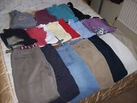 BUNDLE OF MENS / TEENAGERS CLOTHING INC ANIMAL AND FAT FACE, GEORGE AND OTHERS