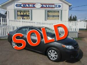 2012 Toyota Corolla CE AIR 5SPD STD!! BLUETOOTH PW PL HTD MIRROR