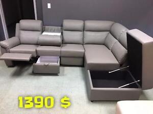 GRANDE LIQUIDATION Salon Sectionnel à partir de 399 $
