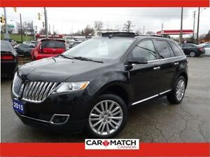 2015 Lincoln MKX RESERVE PKG / NAV / LEATHER / PANO ROOF