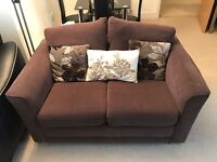 FREE DELIVERY Small DFS brown two seater sofa