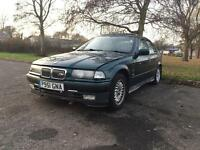 Completely rust free e36 saloon 316