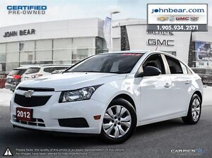 2012 Chevrolet Cruze LS JUST TRADED, ONE OWNER VEHICLE, NO INTER