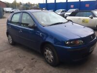 FIAT PUNTO 1.2 PETROL 5 SPEED MANUAL GEARBOX ENGINE 2002-2006