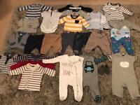 Bundle of 0-3 boys clothes