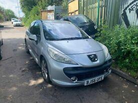 BREAKING Peugeot 207 Sport 110 1.6 Silver HatchbacK Door glass window front rear offside nearside