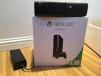 Xbox 360 250GB Console & Guitar Hero Rock Band, guitar & drums & lots of games