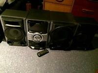Sony Hi-Fi system with subwoofer