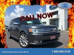 2010 Ford Flex Limited, Ecoboost, AWD, Leather, Moonroof!