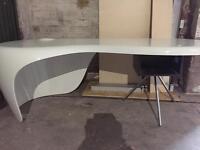 White Italian desk