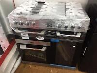 ** CHRISTMAS SALE** New Graded Leisure Range Cuisinemaster Cooker - Silver