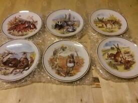 set of animal plates new
