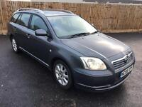 2006 TOYOTA AVENSIS ESTATE 2.2 DIESEL D4D FULL HISTORY LOW MILES MINT CAR NOT VERSO COROLLA