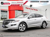 2012 Honda Crosstour EX-L - ONE OWNER - NO ACCIDENTS - VERY LOW