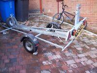 motorbike single traler
