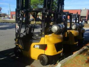 2012 CATERPILLAR FORKLIFT INDOOR&OUTDOOR 2C5000 WITH SIDESHIFT 3STAGE MAST PERFECT TRUCK