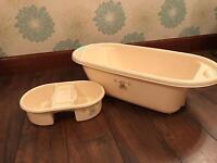 Toys r us I love my bear Baby bath set