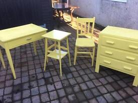Job lot of refurb items of furniture