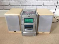 JVC CD Player with speakers