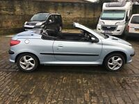 peugeot 206 convertable cabriolet 2002 not 207 mini 307 z3 z4