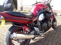 suzuki bandit 1996 faire con for year 6 month mot nice custom paint brakes referbished and new pads