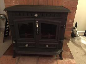 Brand new wood burner
