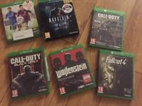 Xbox one games (BARGAIN) £25 for all