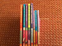 Set of 8 Rainbow Magic Fairy books